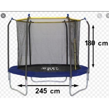 TRAMPOLINE + FILET DIAMETRE DE 244