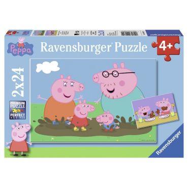 VIE FAMILLE PEPPA PIG 2X24 RAVENSBURGER 09082