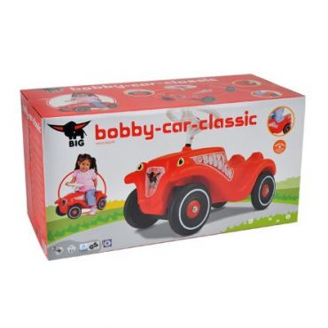BIG BOBBY CAR CLASSIC ROUGE SMOBY 800001303