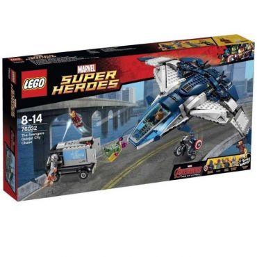 LA POURSUITE DU QUINJET LEGO 76032