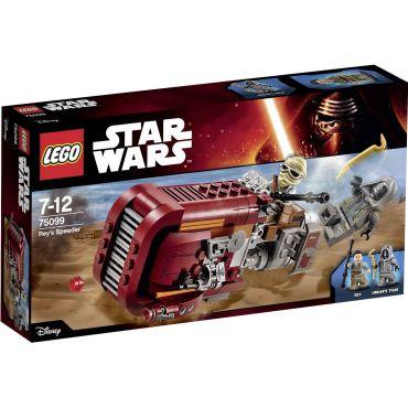 REY S SPEEDER LEGO 75099