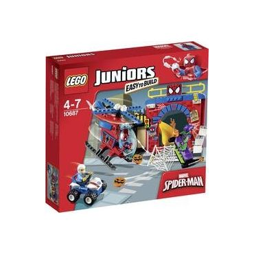 LA CACHETTE DE SPIDER MAN LEGO 10687