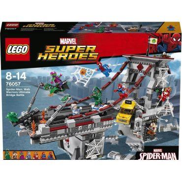 SPIDERMAN LE COMBAT SUPREME LEGO 76057