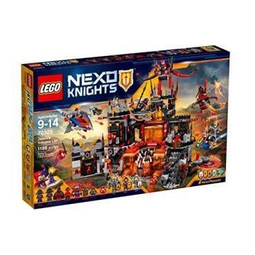 LE REPAIRE VOLCANIQUE DE JES LEGO 70323