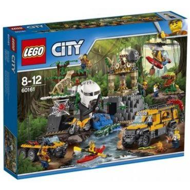 LE SITE D EXPLORATION DE LA JUNGLE LEGO 60161