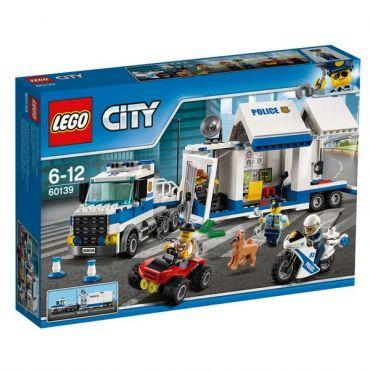 LE POSTE DE COMMANDEMENT MOBILE LEGO 60139