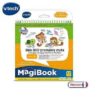 MAGIE BOOK BEBES ANIMAUX VETECH 80-480005