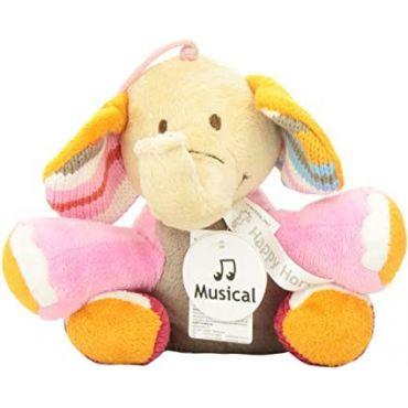 ELEPHANT GABY MUSICAL 15 CM