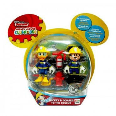 PACK 2 MICKEY ET DONALD TO THE RESCUE IMC