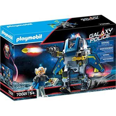 ROBOT ET POLICIER DE L ESPACE PLAYMOBIL 70021