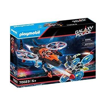 HELICOPTERE ET PIRATES DE L ESPACE PLAYMOBIL 70023