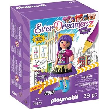VIONA-COMIC WORLD PLAYMOBIL 70473