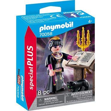 MAGICIENNE ET GRIMOIRE PLAYMOBIL 70058