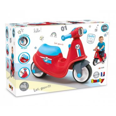 PORTEUR SCOOTER ROUGE SMOBY 721003