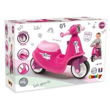 PORTEUR SCOOTER ROSE SMOBY 721002