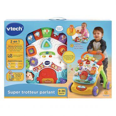 SUPER TROTTEUR PARLANT 2 EN 1 VTECH 80-505605