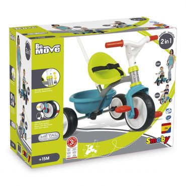 TRICYCLE BE MOVE BLEU SMOBY 740326