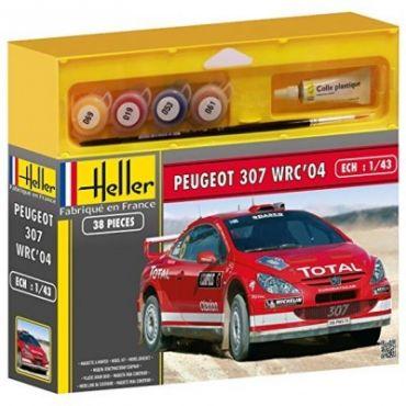 PEUGEOT 307 WRC HELLER 50115