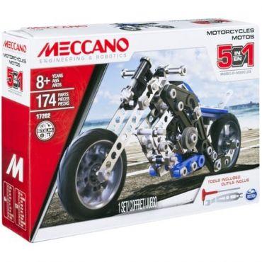 SET MOTORCYCLE MECCANO 6036044