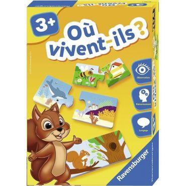 OU VIVENT ILS RAVENSBURGER 24037