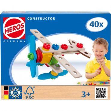 EH CONSTRUCTION 40PCS AVION 2 EN 1 SMOBY 100039013