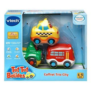 TTB COFFRET TRIO CITY VTECH 207325