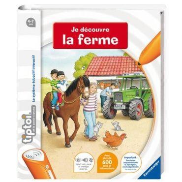 DECOUVRE LA FERME TIPTOI RAVENSBURGER 006045