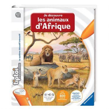 DECOUVRE ANIMAUX AFRIQUE TIPTOI RAVENSBURGER 00592