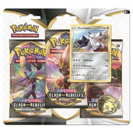POKEMON PACK 3 BOOSTER ASMODEE 3PACK01
