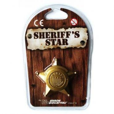 SHERIFF STAR BLISTER PL