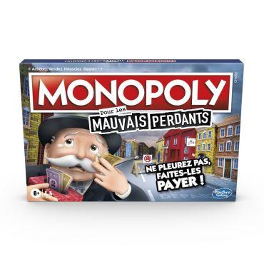 MONOPOLY MAUVAIS PERDANTS HASBRO E99721010
