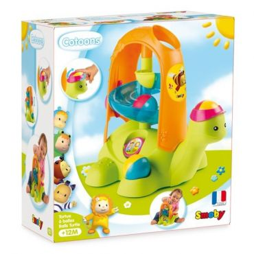 COTOONS TORTUE A BALLES SMOBY 110414