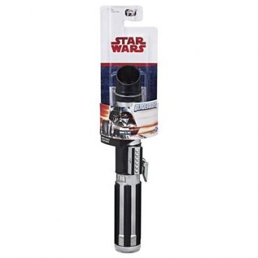 SW E4 DARTH VADER EXTENDABLE LIGHT SABER HASBRO