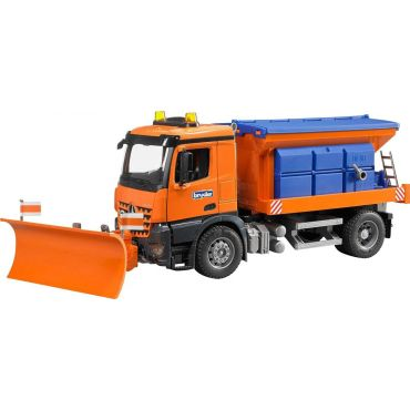 CAMION CHASSE NEIGE MB BRUDER 3685