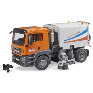 CAMION NETTOYAGE DES RUES BRUDER 3780