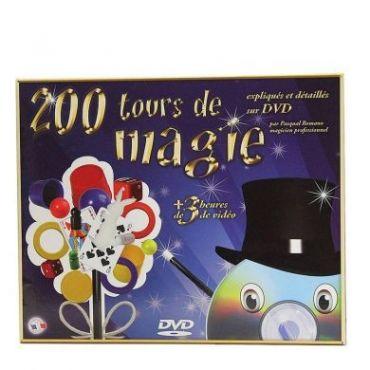 200 TOURS MAGIE DVD 3 HEURES