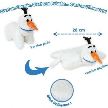 PILLOW PET OLAF 28CM VIVID QB000601
