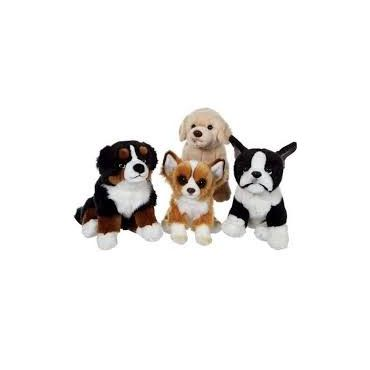 CHIEN FLOPPY ASSIS 25CM GIPSY 055204