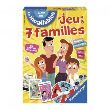 JEU DES 7 FAMILLES INCOLLABLE RAVENSBURGER