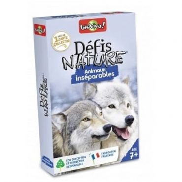 DEFIS NATURE ANIMAUX INSEPARABLE
