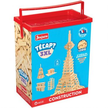 TECAP 3XL 200 PIECES JEUJURA 8322