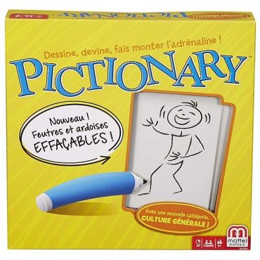 PICTIONARY FRANCE MATTEL DKD50